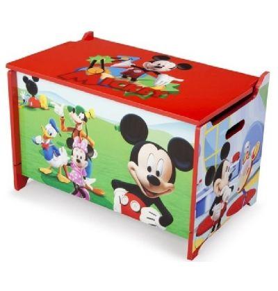 Caja de Juguetes de Madera Mickey Mouse 3