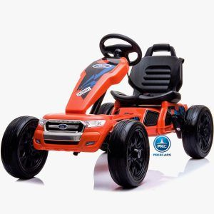 Kart Eeléctrico Ford Ranger 12V Naranja