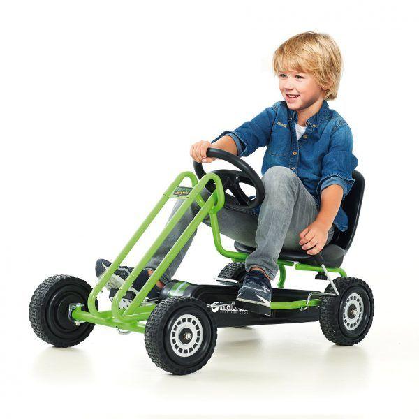 Kart a pedales Lightning Verde 3