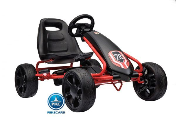 KART A PEDALES CHAMPION NEGRO 3