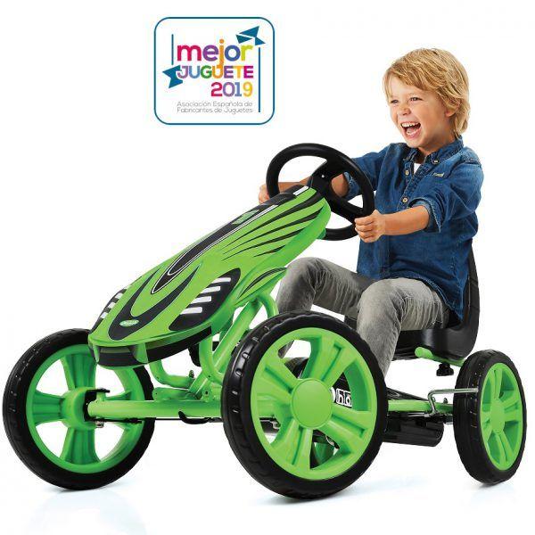 Kart a pedales Speedster Verde 3
