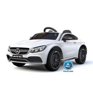 Mercedes C63 12V 2.4G Blanco con Batería Extraíble