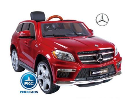 Mercedes GL63 Super Luxe 12V 2.4G Rojo de Una Plaza 3