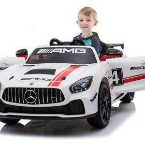 Mercedes Deportivo GT4 12V 2.4G Blanco