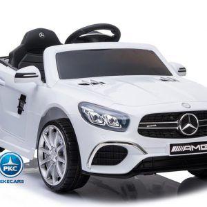 Mercedes SL63 12V 2.4G Blanco