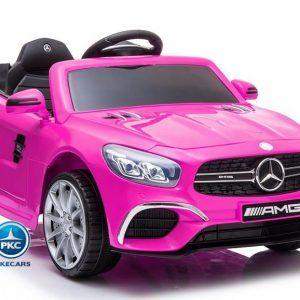 Mercedes SL63 12V 2.4G Rosa