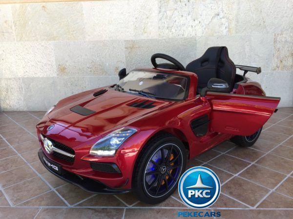 Mercedes Deportivo SLS Rojo 3