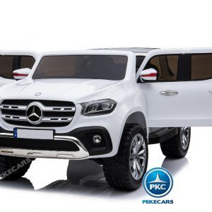 MERCEDES PICKUP X CLASS MP4 12V 2.4G BLANCO