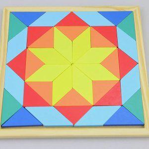Rompecabezas Mosaico de Placas