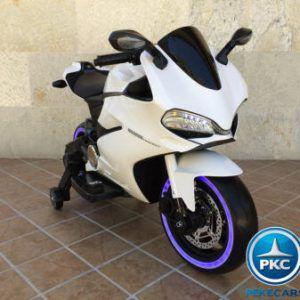 MOTO DUCATI SUPERBIKE 1299 PANIGALE STYLE 12V WHITE