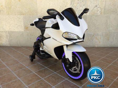 MOTO DUCATI SUPERBIKE 1299 PANIGALE STYLE 12V WHITE 3