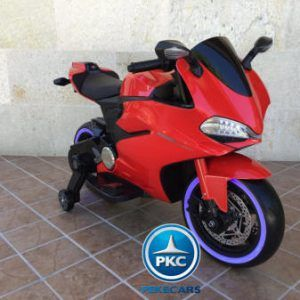 MOTO DUCATI SUPERBIKE 1299 PANIGALE STYLE 12V RED