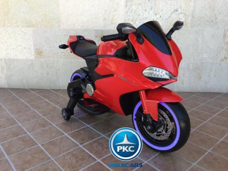 MOTO DUCATI SUPERBIKE 1299 PANIGALE STYLE 12V RED 3