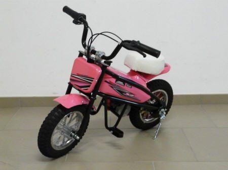 MOTO PEKECARS 200W 24V PINK 3