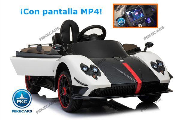 PAGANI ZONDA PANTALLA MP4 BLANCO 12V 2.4G 3