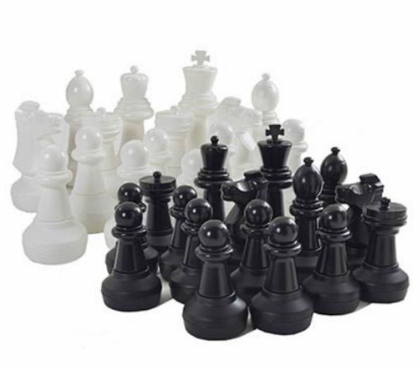 Piezas de ajedrez gigante 3