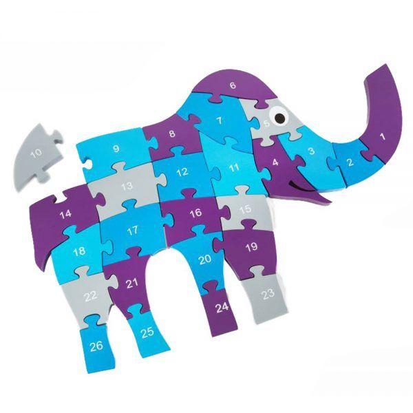 Puzzle Elefante 3