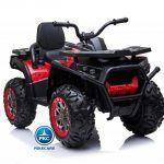 Quad Eléctrico Desert Spider 12V 2.4G Rojo Metalizado