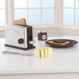 Kidkraft set tostadora espresso