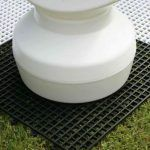 Tablero de plástico para piezas ajedrez gigante