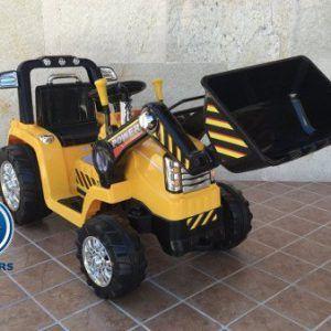 TRACTOR ELÉCTRICO PEKECARS 12V AMARILLO