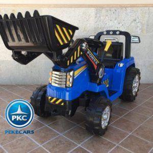 TRACTOR ELÉCTRICO PEKECARS 12V AZUL