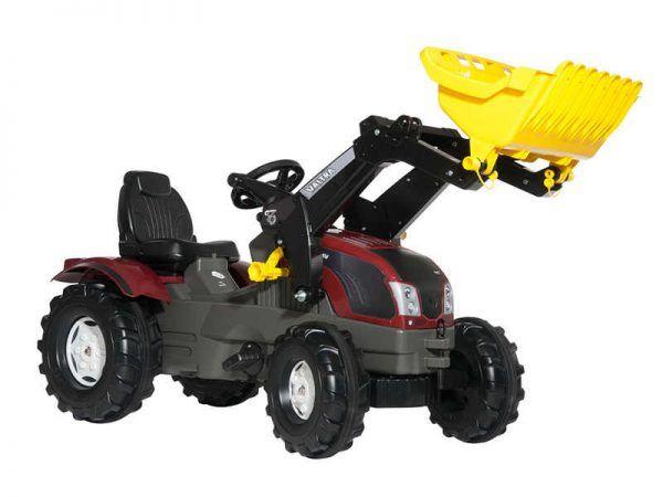 Tractor Valtra con Pala incluida 3