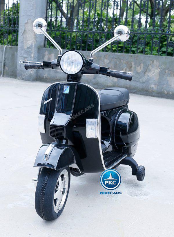 Vespa Piaggio PX-150 Negra 3