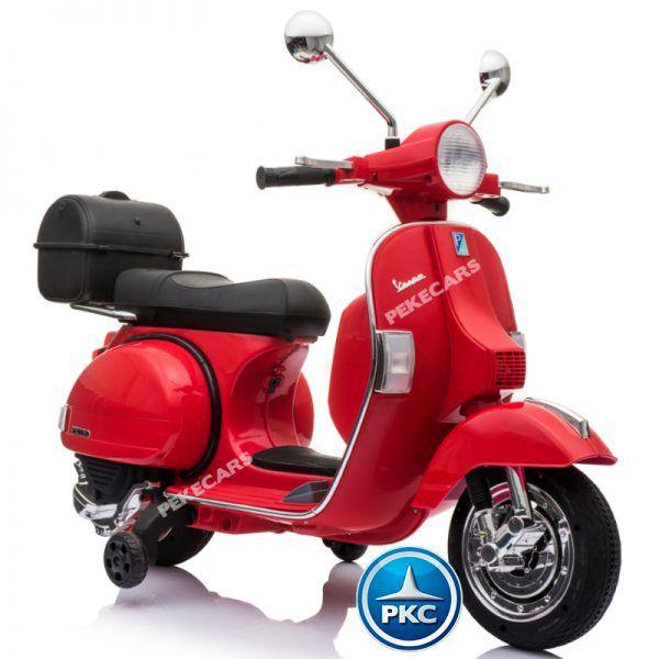 Vespa Piaggio PX-150 Roja 3