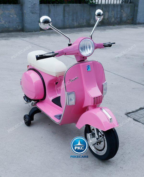 Vespa Piaggio PX-150 Rosa 3