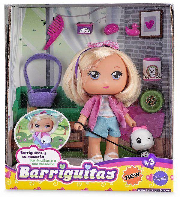 BARRIGUITAS - BARRIGUITA RUBIA CON MASCOTA 4