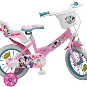 BICICLETA MINNIE CLUB HOUSE 14″