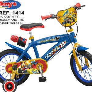 BICICLETA MICKEY AND THE ROAD RACERS 14″