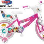 BICICLETA DISNEY PRINCESS 16″