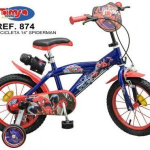 BICICLETA SPIDERMAN 14″