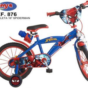 BICICLETA SPIDERMAN 16″