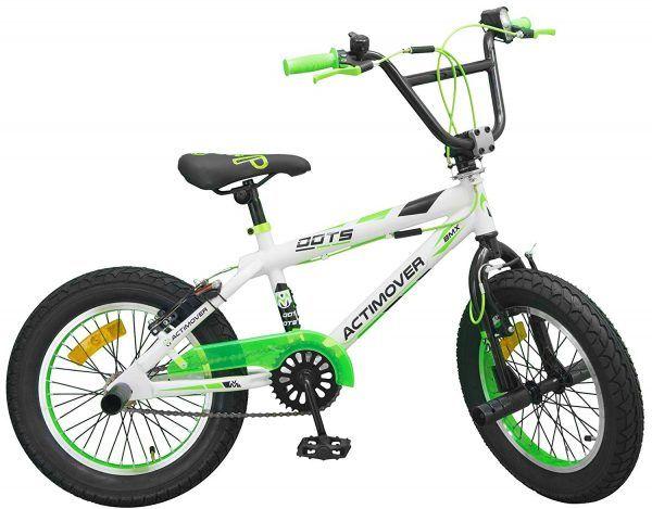 Bicicleta BMX 16 Pulgadas Freestyle Verde / Blanco 3