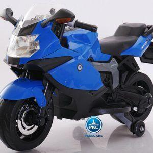 Moto Eléctrica BMW Style 12V K1300S Azul