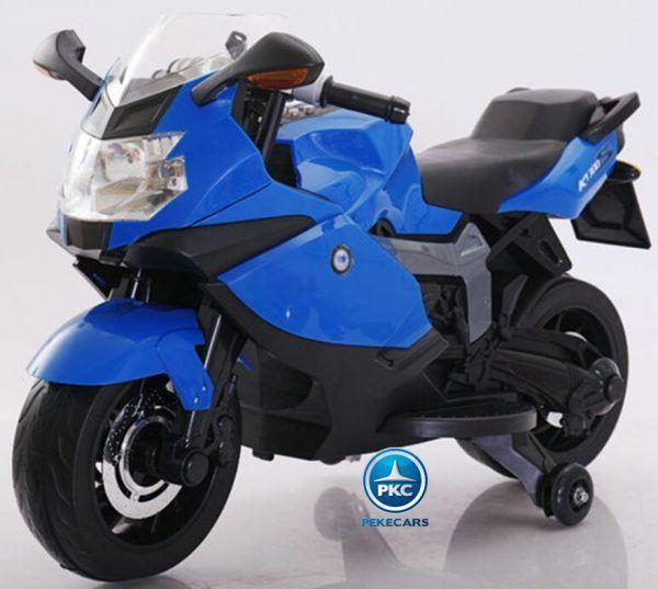 Moto Eléctrica BMW Style 12V K1300S Azul 3