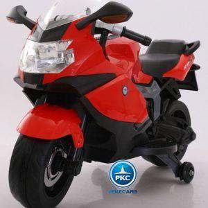 Moto Eléctrica BMW Style 12V K1300S Roja