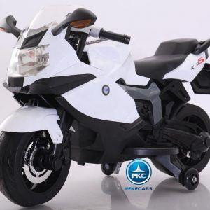 Moto Eléctrica BMW Style 12V K1300S Blanca
