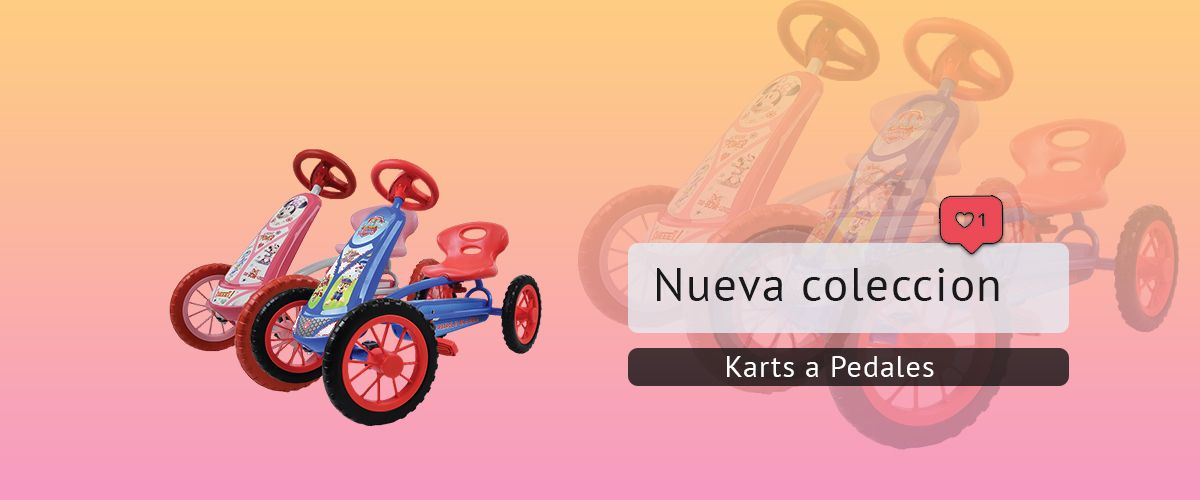 coleccion karts pedales jd