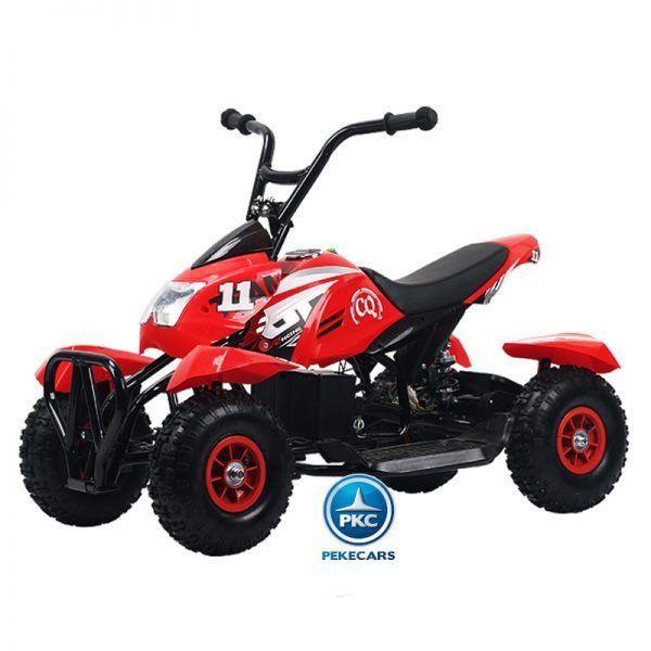 Mega Quad 4100 24V Rojo 3