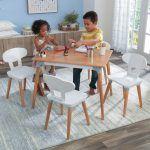 Kidkraft set de mesa y 4 sillas Mid Century