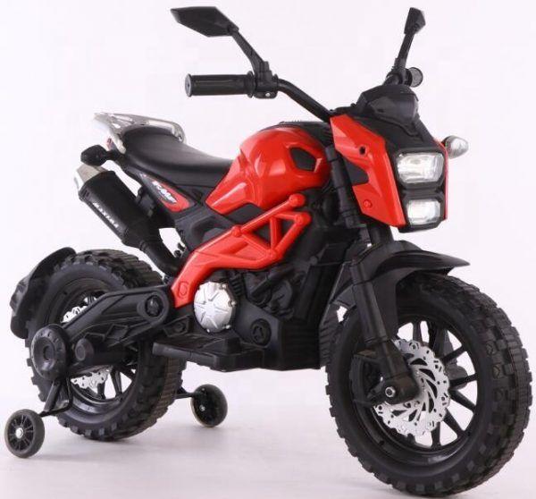 Moto de cross Máxima Roja 3