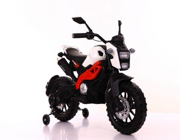 Moto de cross Máxima Roja/Blanca 2