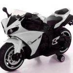 Moto eléctrica R1 Blanca