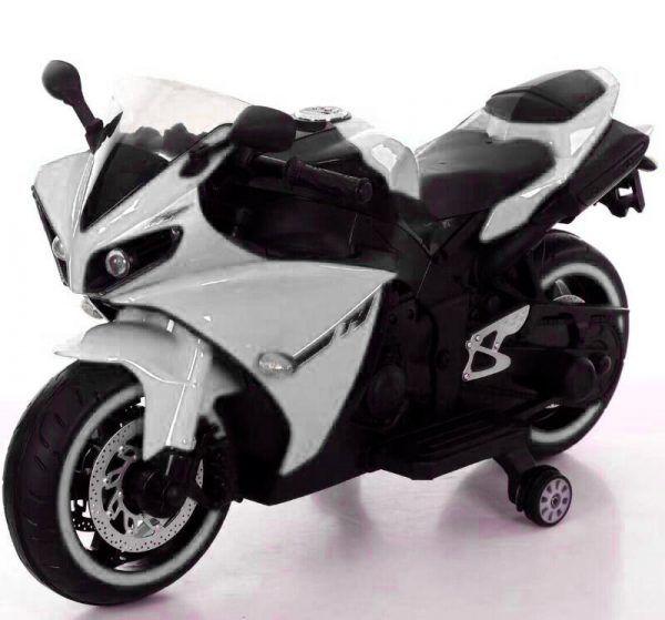 Moto eléctrica R1 Blanca 3