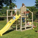 Parque infantil Crossfit con tobogan