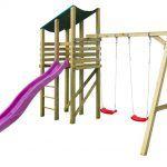 Parque Infantil Elly con tobogan